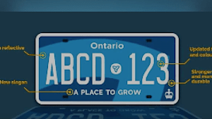 Ontarians Shine Light On Glaring Licence Plate Flaw