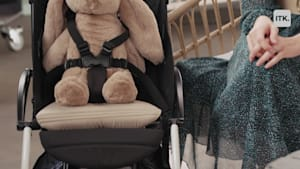 Travel stroller and accessory are the perfect pair