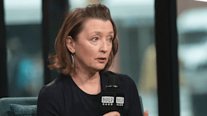 Lesley Manville talks about getting in character