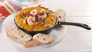 Head down to the Bayou with this jambalaya dip