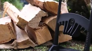 Kindling cracker is a safe way to make kindling
