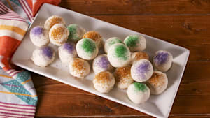 King cake truffles transport you directly to NOLA