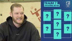 """Die perfekte Aufstellung: Die Handball-""""Traum7"""" von Johannes Bitter (TVB 1898 Stuttgart)"""