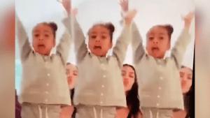 Kim Kardashian and her daughter love TikTok
