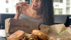 Burger King's new fries sandwich