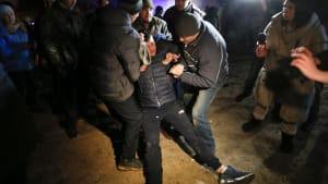 """Ukraine - Gewalt gegen Coronavirus-Isolierstation: """"Wir wollen keine neues Wuhan werden"""""""