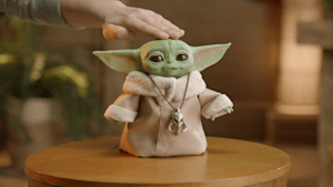 Baby Yoda comes to life with new lifelike figure