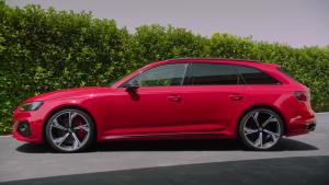 Der neue Audi RS 4 Avant Muskulös - das Außendesign