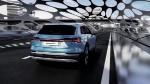 Batterie und Sicherheit im Audi e-tron Animation
