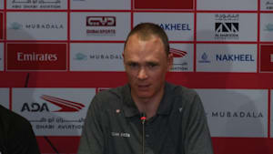 """It feels like a really big victory just to be here,"" says Froome on return to racing"
