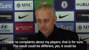 Jose Mourinho: I have no complaints about my players