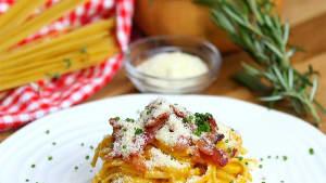 Best Bites: Butternut squash pasta carbonara