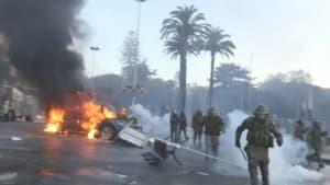 Gewalt statt Gesang - Unruhen während Festival in Chile