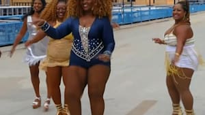 Samba dancers are ready to take on Rio's Carnival