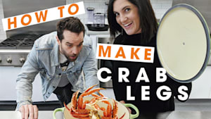 3 ways to cook crab legs