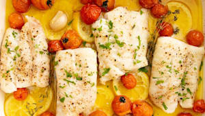 Make delicious cod in the oven