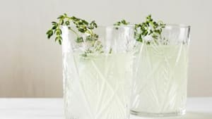 Herb cocktail is a new and fun recipe