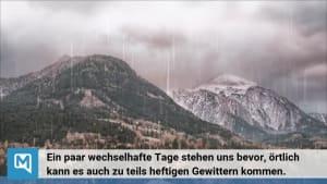 Das Deutschlandwetter - Der kurze Wintereinbruch