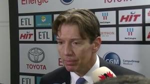 Das sagt der neue Haie-Coach Uwe Krupp zum Sieg gegen Wolfsburg