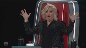 Kelly Clarkson shocked by 'Voice' contestant