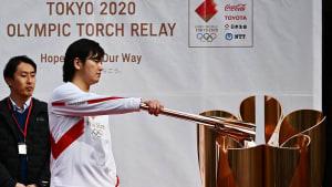 Olympische Spiele Tokio 2020 - Fackellauf sorgt für Angst vor Coronavirus