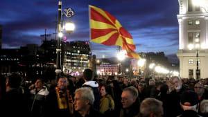 Proteste in Nordmazedonien - Opposition fordert Anklage gegen Ex-Ministerpräsident