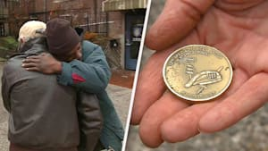 Man finds and returns rare coin to veteran