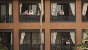 """Covid-19-Ausbruch in Hotel auf Teneriffa: """"Wir sind ziemlich isoliert"""""""