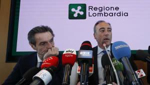 Coronavirus in Lombardei: Regionalpräsident unter Quarantäne