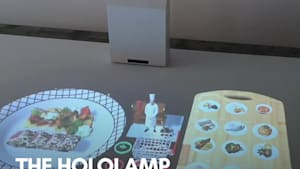 AR menu shows 3D models of dishes when you order