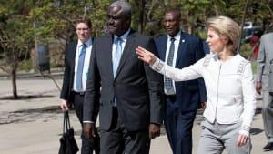 Diplomatische Offensive der EU in Afrika