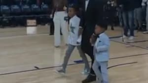 Kyle Lowry's Sons Are Too Cute To Handle