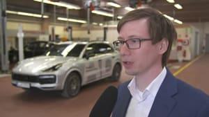 Porsche Autonomes Fahren in der Werkstatt - Alexander Haas