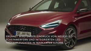 Der neue Hyundai i30 - Sportliches Außendesign