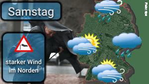 Deutschlandwetter: Starker Wind und Glatteis am Wochenende