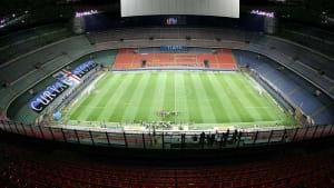 Fußball ohne Fans in Italien - Coronavirus sorgt für leere Stadien