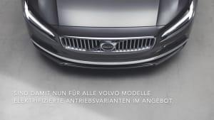 Volvo 90er Familie optisch und technisch aufgewertet