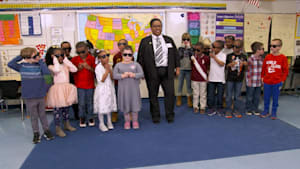 Teacher dresses up as a Black leader every day