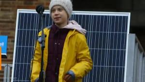 Greta Thunberg says world leaders are 'acting like children'
