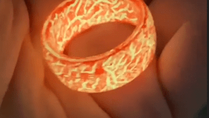These rings can glow in the dark