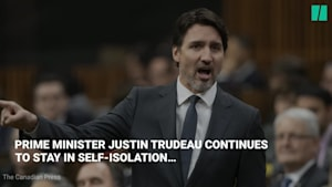Prime Minister Justin Trudeau Goes Into Self-Isolation Over COVID-19