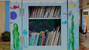 Popup Libraries Morph Into Pantries To Help Strangers With COVID-19 Supplies