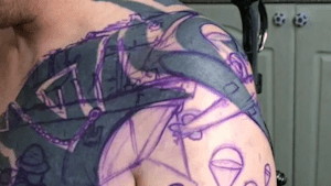After 30 Hours Of Getting Inked, This Man's Botched Tat Was Turned Into A Work Of Art