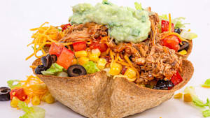 How to make a healthy taco salad