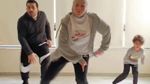 Electrifying dance moves are this dancer's purpose