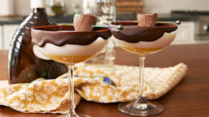 Cadbury creme martini is a great Easter cocktail