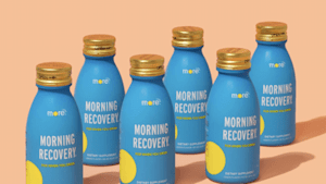 Do more with More Labs recovery drinks