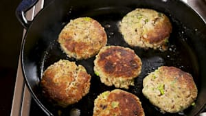 Amazing salmon patties come together in no time