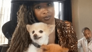 Jennifer Hudson introduces the world to her dogs