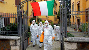 Mehr als 10.000 Tote in Italien - Intensivpatienten in Frankreich verlegt